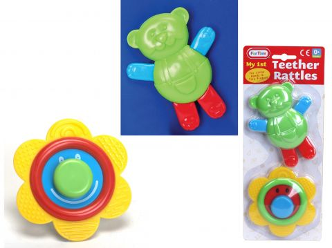Rattle & Teether Birth & Up