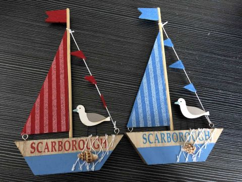 Scarborough Wooden Sailing Boat