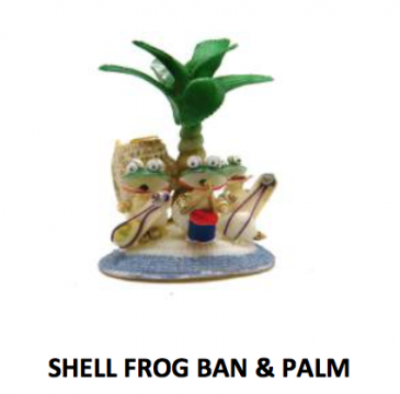 Shell Frog Band & Palm Tree