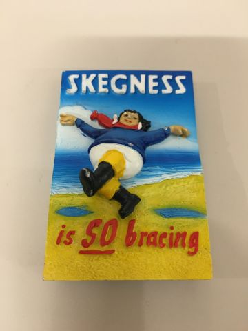 Skegness Jolly Sailor Resin Magnet
