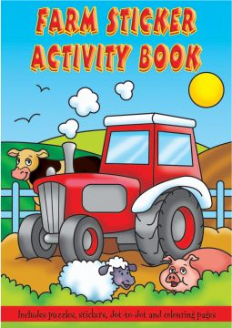 Small Farm Sticker Activity Book