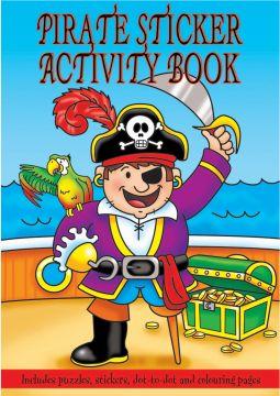 Small Pirate Sticker Activity Book