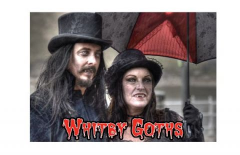 Whitby Goth Metal Magnet