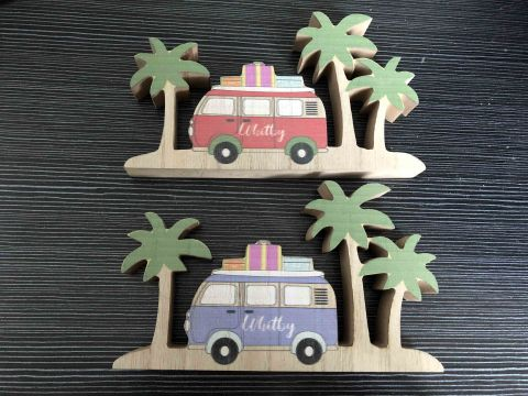 Whitby Wooden Camper / Palm Tree