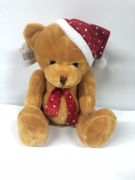 25cm Gingerbread Xmas Bear