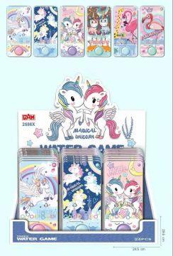 6 Assorted Unicorn Watergame WG002UN