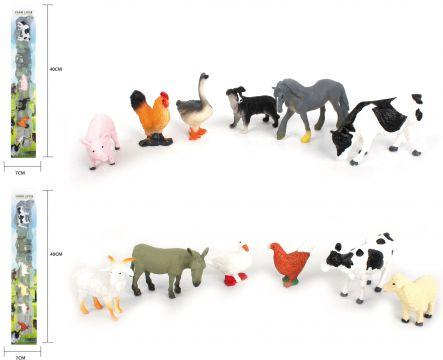 6 Farm Animals In Tube