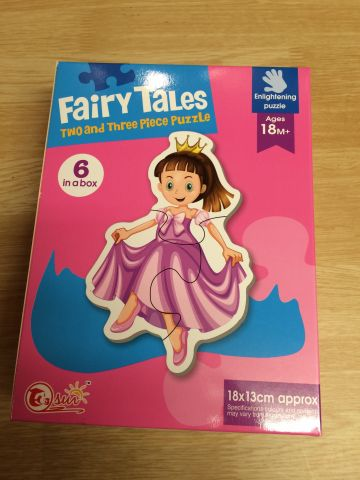 6 in a box Fairy Tales Puzzles