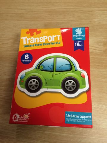 6 in a box Transport Puzzles