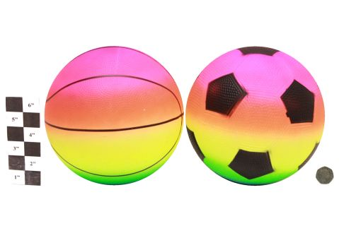 """8.5"""" Neon Dimple Basketball"""