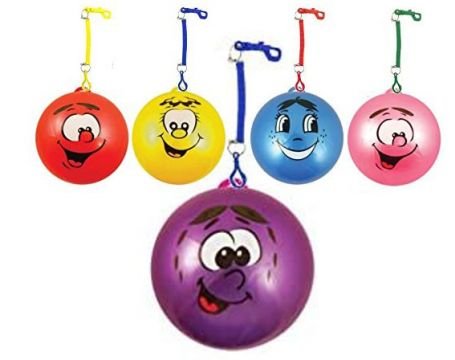 """23cm / 9"""" Fruity Smell Ball with Keyring - 4 ASTD"""