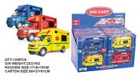 13cm 3 Assorted Emergency Vehicles