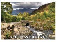 Ashness Bridge Metal Magnet LAM731