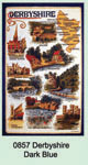 Derbyshire Blue Tea Towel