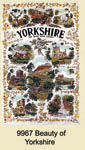 Yorkshire Beauty Of Tea Towel
