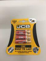 Pack 4 AAA Zinc Batteries