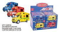 13cm 3 Assorted Emergency Vehicles
