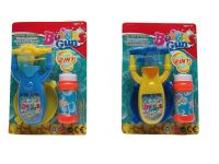14cm 2 Assorted Battery Operated Bubble Gun