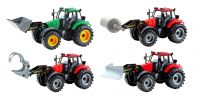 26cm Large Friction Farm Tractor and Attachment