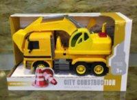 27cm 2 Astd Giant Friction Construction Vehicles