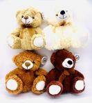 "9.5"" Plush Bear 4 Assorted"