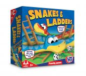 Boxed Snakes And Ladders 27cm x 27cm x 4cm 1374325