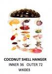 Coconut Sea Shell Hanger