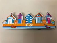 Filey Row Of Beach Huts Magnet