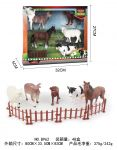 Large 10cm Farm Animals In Display Box