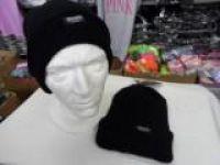 Mens Black Thinsulate Hat