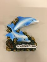 Scarborough Dolphins Resin Magnet