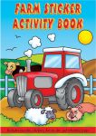 Small Farm Sticker Activity Book