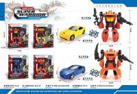 Super Warrior Transformer - 4 assorted