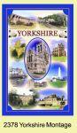 Yorkshire Montage Tea Towel