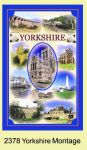 Yorkshire Montage Tea Towel